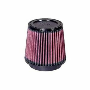 K N Air Filter Filtercharger Conical Cotton Gauze Red 4 Dia Inlet Ru 2520