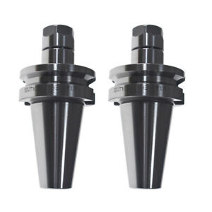 2pcs Bt40 er16 2 75 Length Collet Chuck Tool Holder For Cnc Milling