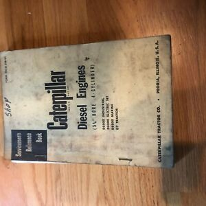 Cat Caterpillar Diesel Engine Servicemen s Reference Book Manual 4 Cyl 5 3 4 D7