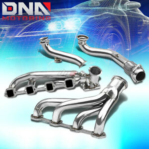For 79 93 Mustang 5 0 T4 Turbo Charger Turbocharger Exhaust Manifold 44mm Port