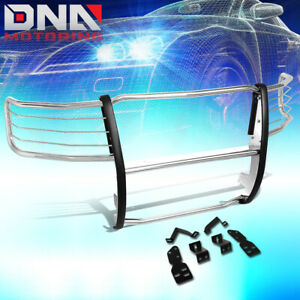 For 2007 2013 Chevy Silverado Stainless Steel Front Bumper Grille Brush Guard