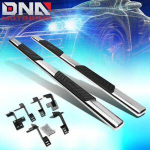 For 2019 2020 Ram Truck 1500 Crew Cab 5 Oval Step Bar Running Boards Chrome