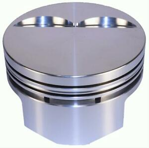 Dss Racing Pistons Forged Flat 4 040 In Bore 350 Chevy Set Of 8