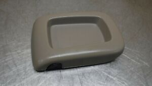 Chevrolet Gmc Tahoe Suburban Yukon Center Console Lid Armrest 03 06 Brown Tan