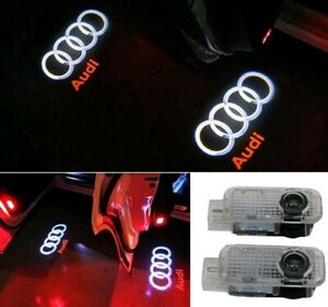 Car Door Led Lighting Entry Ghost Shadow Projector Welcome Lamp Logo For Audi