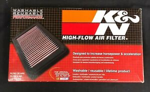 New K n High flow Air Filter Washable Reusable Performance 33 2309 Free Shipping