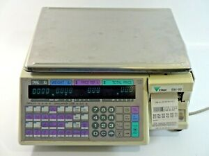 Digi Sm 90 Digital Computing Printing Scale Retail Grocery Deli Produce Working