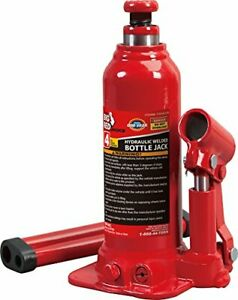 Torin Big Red Hydraulic Bottle Jack 4 Ton Capacity
