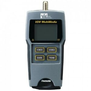 Ideal Vdv Data And Video Tester Multimedia Voice