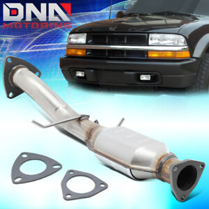 For 1996 1999 Chevy Blazer Gmc Jimmy 4 3l Catalytic Converter Exhaust Rear Pipe