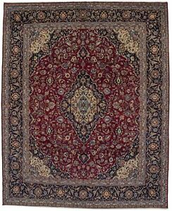 Hand Knotted Semi Antique 10x12 Classic Persian Rug Oriental Home D Cor Carpet
