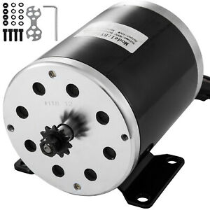 36v Dc Electric Motor 500w E bike Motor Scooter 2500rpm E Bike Razor E atv
