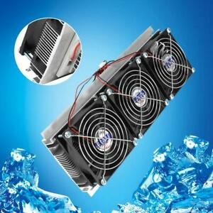 Semiconductor Refrigeration Thermoelectric Peltier Diy Air Cooling Device power