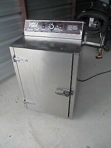 Southern Pride Sc 100 Smoke Chef Oven Electric Bbq Smoker Stainless