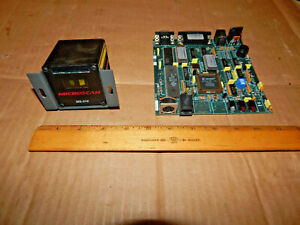 Microscan Systems Ms 510 Fixed Mount Barcode Scanner Fis 051 0109 circuit Board