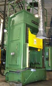 96 Ton Vremac Double Action Hydraulic Press