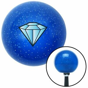 Diamond Blue Blue Metal Flake Shift Knob Drag Race Racing Sprint Car Gear