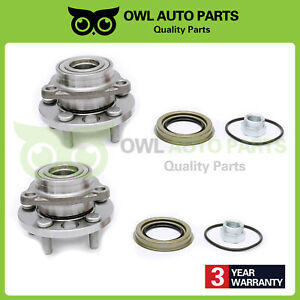 2 Front Wheel Bearing Hub For 95 05 Pontiac Sunfire Chevy Cavalier Buick 513017k