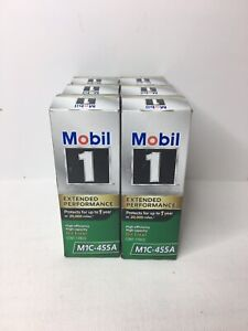 Lot Of 6 New Mobil 1 Extended Performance Oil Filter M1c 455a Free Shipping