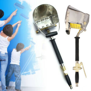 Air Stucco Sprayer Mortar Sprayer 4 Spraying Holes Plaster Hopper Gun Cement Usa