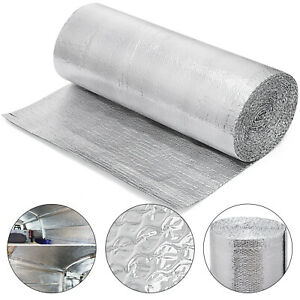 Double Bubble Reflective Foil Insulation 3 3 X65 6 Ft Roll Industrial Strength
