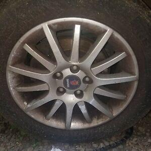 Saab 9 3 93 2003 2011 16 Wheel Alloy Compare Picture One