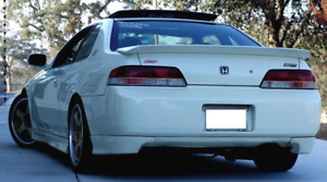 New Honda Prelude Mugen Style Rear Skirt Lip Kit H22 1997 98 99 00 01