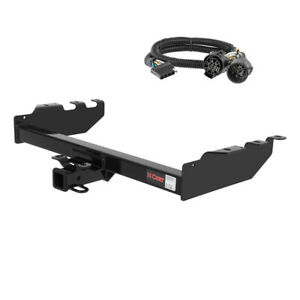 Curt 2 Trailer Hitch For 99 04 Chevy Silverado 2500 Ld With Wiring