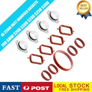 4 X 22 Mm Swirl Flap Flaps Replacement Removal Blanks Gaskets For Bmw 2 0 M47