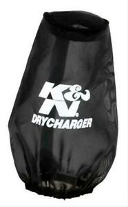 K N 22 8030dk Air Filter Wrap Drycharger Conical Polyester Black 6 0 Height Ea