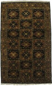 Hand Knotted Yalameh Bidjar 5x9 Indian Wool Rug Oriental Home D C