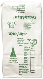 Welch Allyn Universal Kleenspec Pediatric Disposable Ear Specula 850 Count