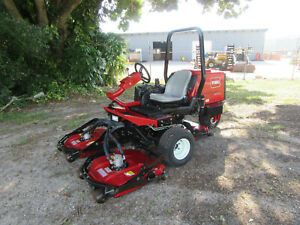 Toro 3505d Groundsmaster 32 Hp Kubota Turbo Diesel Rotary Mower 669 Hrs