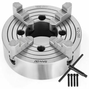 Lathe Chuck 6 8 10 4 jaw Independent Reversible K72