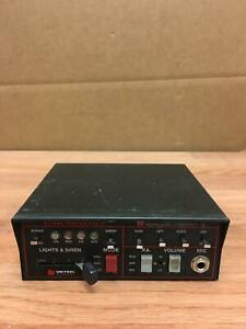 Touchmaster Tm4 Unitrol Siren Public Address Amplifier Working Free Ship