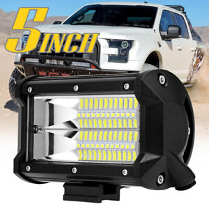1x 5inch 288w Led Pods Work Light Bar Flood Driving Lamp Truck Off Road 4x4wd