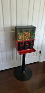 Used Custom Painted Red And Black Vendstar 3000 Candy Machines