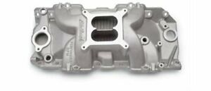 Edelbrock Performer Rpm Intake Manifold 7163 Bbc Fits Rect Port Heads