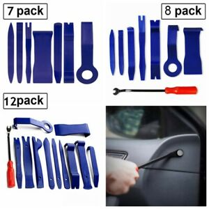 Universal Panel Removal Open Pry Tools Kit Car Dash Door Radio Trim 7 8 12pcs