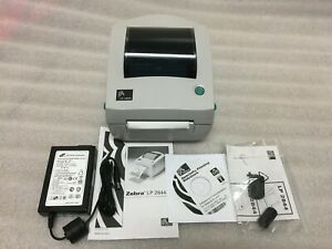 New Zebra Lp2844 Lp 2844 Thermal Label Barcode Printer Part 2844 20300 0001