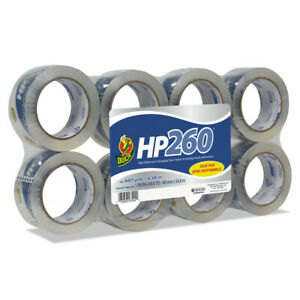 Duck 00 07424 Hp260 1 88 In X 60 Yds Packaging Tape clear 8 pack New