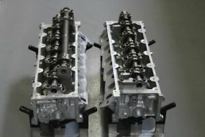 Pair Ford 6 4 Powerstroke Twin Turbo Diesel F350 Truck Cylinder Heads 08 10