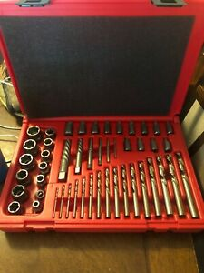 Snap On 48 Piece Exdms48 Master Extractor Set Brand New