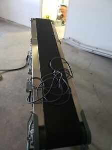 Powered Belt Conveyor With Stainless Steel Overlay