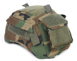Emerson Hunting Tactical Helmet Cover Woodland Camo for MICH TC-2001 ACH Helmet