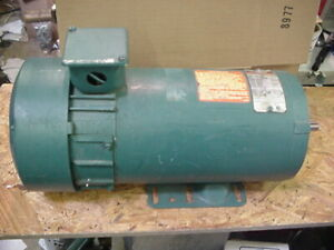New Reliance Electric Shunt Wound 180v Dc Motor 56c W foot 1725rpm 1hp T56h1120m