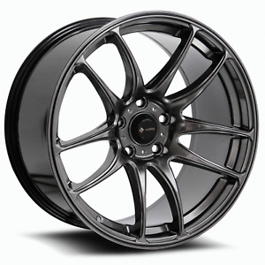 Vors Tr4 18x8 5 18x9 5 5x120 35 35 Hyper Black Wheels 4 18 Inch Staggered Rims