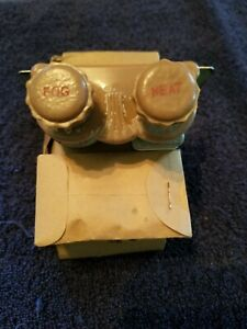 Vintage Ark les Nos Dual Fog Light Heat Heater Switch 30 s 40 s Accessorie