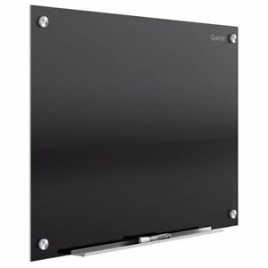 Quartet Glass Whiteboard Magnetic Dry Erase Board 3 X 2 infinityblack Surface