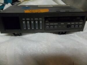 Factory Delco Radio Eq Cassette Tape Player For 88 94 Chevy Pickup Truck Suburbn